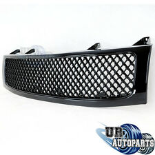 ABS Black Mesh Package Grille W/Shell Replacement(Fits For: 04-12 Nissan Titan)