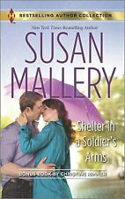 Shelter in a Soldier's Arms: Donovan's Child by Susan Mallery Mass Market Paperb