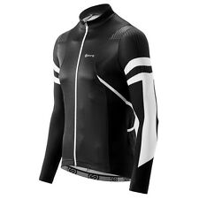 Skins Cycle Men's Gottardo Jersey Long-sleeve Black/White Large