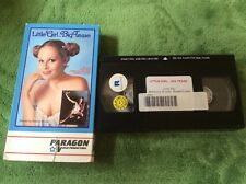 Paragon Video VHS Little Girl Big Tease 1976 Cult Crime Sleaze R