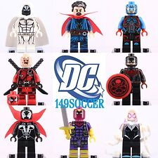 8pcs set Deadpool Gwen minifigures Custom Lego Super hero Figure Toy