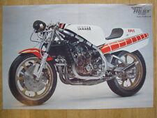 Poster Yamaha YZR500 OW54 1981 (gevouwen)