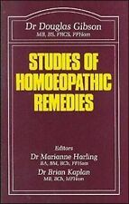 Studies of Homoeopathic Remedies by Douglas M. Gibson (Paperback, 1987)