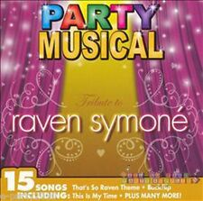 RAVEN SYMONE Party Musical CD ~ Birthday Party Supplies ~ Dance That's so raven