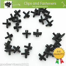 50 Pcs Body Side Moulding Clip Trim Retainer with Sealer For Beetle 113-853-585C