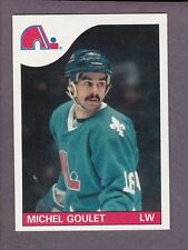1985-86 Topps Hockey Michel Goulet #150 Quebec Nordiques NM/MT