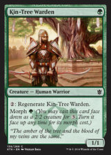 MTG 4x KIN-TREE WARDEN - GUARDIANO DELL'ALBERO ATAVICO - KTK - MAGIC
