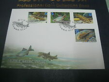 TAIWAN FDC - `FISHES OF TAIWAN'