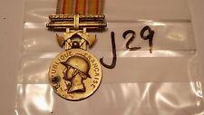 Orden Frankreich Feuerwehr Verdienstmedaille golden (j29-)