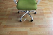 """PVC Chair Mat 36"""" x 48"""" Hard Floor Protection Clear Transparent 1.5mm Thickness"""