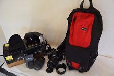 Nikon D D3100 14.2 MP Digital SLR Camera - Black (Kit w/ AF-S DX G 18-55mm