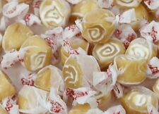 CARAMEL SWIRL Salt Water Taffy Candy ~ TAFFY TOWN ~ 5 LB BAG