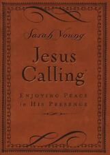 Jesus Calling - Deluxe Edition Brown Cover : Enjoying Peace in His Presence...