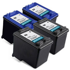 Recycled HP 56 57 ink (C6656AN C6657AN) for HP Deskjet 5550 5150 450 5650 4
