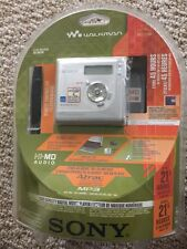 SONY HI-MD MINIDISC WALKMAN RECORDER MZ-NH700 HiMD Brand New