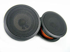 3-SERIES BMW E46 SEDAN COUPE FRONT DOOR SPEAKER BLACK HK HarmanKardon Pair