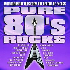 Pure 80's Rocks CD 2002 Kiss/Whitesnake/Poison/L.A. Guns/Judas Priest
