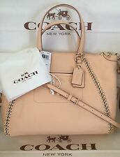 COACH Prairie Whiplash Leather Handbag 34339 Shoulder Bag Apricot MSRP $595 NWT