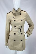Michael Kors NWT British Khaki Trench Coat Winter Long Peacoat Jacket sz XS $180