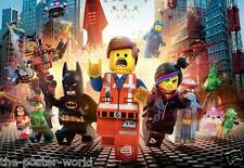 Lego Movie Film Kids Bedroom Picture Poster Wall Art Print New