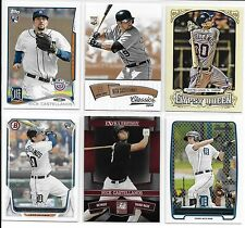 Lot (6) Diff. 2010-2014 NICK CASTELLANOS Rookie Cards & Pre RC's Detroit Tigers
