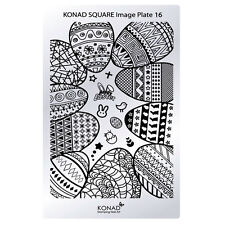 Konad Stamping Nail Art Square Image Plate 16 Easter
