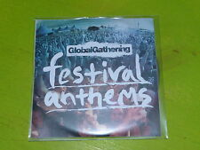 VARIOUS - GLOBAL GATHERING ANTHEMS !!!!!!!!!!!! CD PROMO!