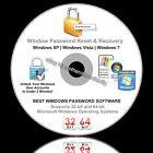 Windows Password Reset Recovery Removal - Boot CD Unlock XP Vista 7