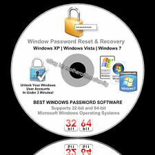 Windows Password Reset - Unlock Your Windows XP Vista 7