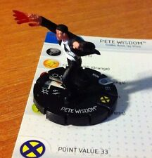 HeroClix MUTATIONS and MONSTERS #006 PETE WISDOM  MARVEL