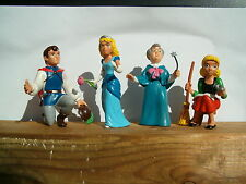 4 figurines figures figuras figuren disney cendrillon comic spain