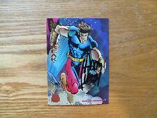 1994 FLEER MARVEL UNIVERSE MEANSTREAK CARD SIGNED ADAM KUBERT, WITH POA