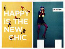 Publicité 2012  MORGAN   collection vetement mode