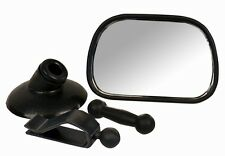 "Child 3.5"" Safety Mirror for Auto-Car-Truck Clips to car rearview or windshield"