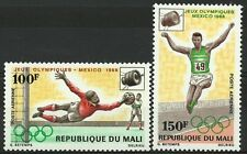 MALI SPORT JEUX OLYMPIQUES MEXICO OLYMPICS GAMES FOOTBALL SOCCER FUßBALL ** 1968