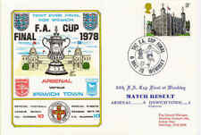 Dawn Football cover 1978 0710 FA Cup Final, Arsenal v Ipswich Town 0-1