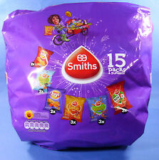 LAY'S SMITHS MIX PACK HOLLAND CHIPS 15 X 27,5 GR. PAPRIKA NIBB-IT BUGLES WOKKELS