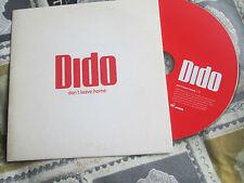 Dido – Don't Leave Home Label: Arista – 82876 598792 UK Promo CD Single