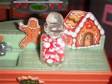 Miniature Christmas Peppermint Jar with Candy for Loving Family Dollhouse Doll A