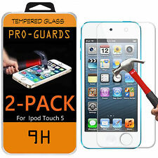 2-PACK Tempered Glass Screen Protector for Apple iPod Touch 5 6 5th 6th Gen