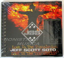 JEFF SCOTT SOTO - LOST IN THE TRANSLATION - CD Sigillato Bonus Track + Video