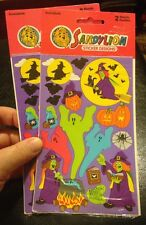 Sandylion Vintage Halloween  Stickers Lot 2 Sealed Packs 4 Sheets Total