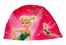 TINKERBELL Kids Swimming Hat Girls Swim Cap UK SELLER Hygiene Cap NEW
