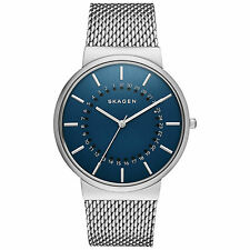 SKAGEN SKW6234 ANCHER MESH STRAP BLUE DIAL MEN'S CLASSIC WATCH
