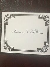 Dr. Francis S. Collins, Author Signed Bookplate