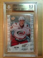 Jeff Skinner Upper Deck Ice Premieres 99 RC Rookie UD 9.5 Carolina 2010-11
