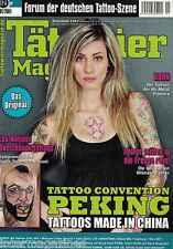 Tätowier Magazin 1,01/2011,Peking,Korn,Lea Nahon,Motive Licht Symbole,Ultimate F