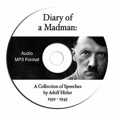 Adolf Hitler Speech Collection on CD-MP3 Format-Over 100 Speeches from 1932-1945
