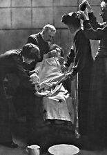 Un prisionero Suffragist en huelga de hambre que se Force Fed por prisión póster de impresión