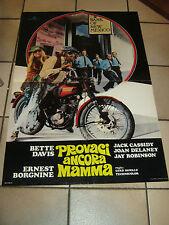 SOGGETTONE,PROVACI ANCORA MAMMA BETTE DAVIS,BORGNINE,CASSIDY,MOTORCYCLES  TRIMPH